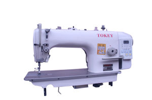 Computer Lockstictch Industrial Sewing Machine with Auto-Trimmer (TK9800-D4)