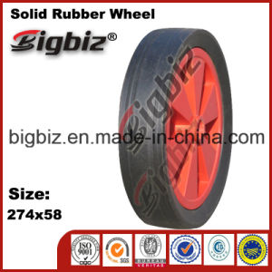 274X58 Cart Wheel Solid Rubber Tires for Sale pictures & photos