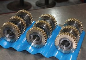 Worm Wheel for Worm Helical Gearbox S Series with Alloy Copper.