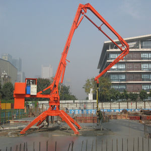 China Supplier Hgy32 Self-Climbing Type Concrete Placing Boom for Sale pictures & photos