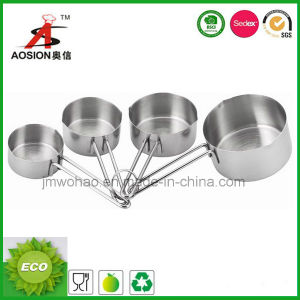4 PCS High Quality Stainless Steel Measuring Cup