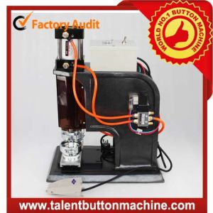 High Speed Interchangeable Safe Metal Slide Pneumatic Button Badge Making Machine Button Maker (SDAP-N22) pictures & photos