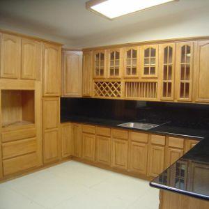 Wooden Kitchen Cabinet-Raised Panel Square Door