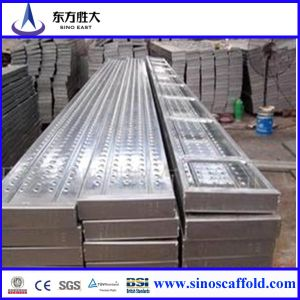Q235 High Quality Galvanized Steel Scaffolding Walking Plank pictures & photos