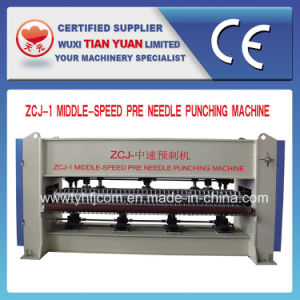 Nonwoven Middle Speed Pre Needle Punching Machine pictures & photos