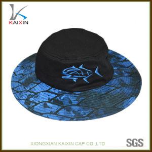 4cdedf4bf Custom Screen Printing Wide Brim Boonie Bucket Hat with Embroidery Logo
