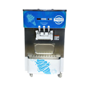 Commercial Soft Ice Cream Machine with Touch Screen, Ice Cream Machine for Sale (Oceanpower OP130) pictures & photos