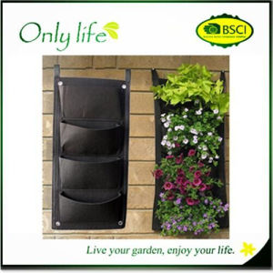 Onlylife Balcony Plant Grow Bag Flower Pot Hanging Plant Bag pictures & photos