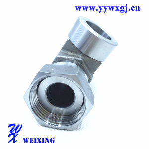 USA Caterpillar Elbow Hydraulic Hose Welding Fitting