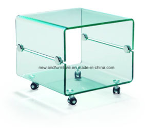 Modern Glass Table for Home (TB-332)