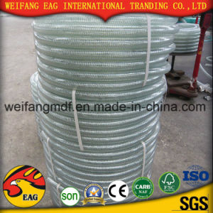 1/4′ Good Quality Very Clear PVC Steel Wire Reinforced Hose/ PVC Spring Hose pictures & photos
