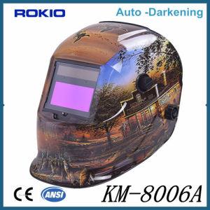 Custom Welding Helmets >> China Protective Solar Powered Batman Auto Darkening Custom Welder S
