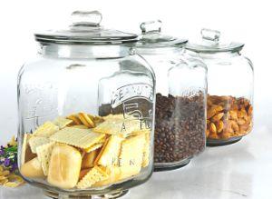 7L 3L Big Glass Jar Storage In Kitchen Of Glassware