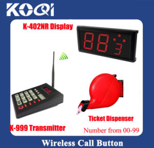Hot Sell Ticket Dispenser Take a Number System for Restaurant with Queue Machine Wireless Queue Calling System pictures & photos