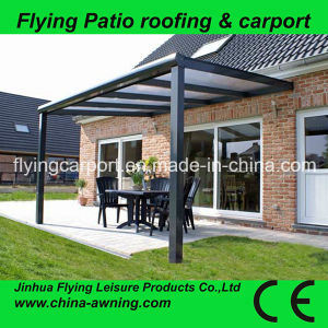 Flying Outdoor Garden Door Canopy Awning Patio Cover Shelter Extendable  Canopies