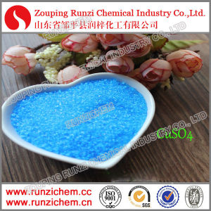 Water Treatment Cu 25% Copper Sulphate Pentahydrate Crystal