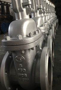 WCB Flanged Gate Valve (Z41H-150#) pictures & photos