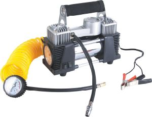 Win-733b Double Cylinder DC12V Car Air Pump pictures & photos