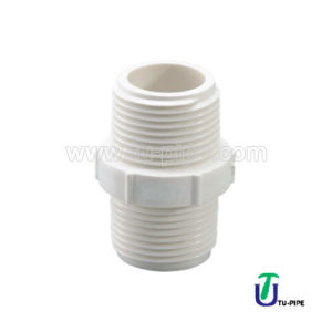 High Quality UPVC Nipple M/M BS pictures & photos