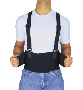 Heavy Duty Industrial Safety Back Support Belt with Suspenders China