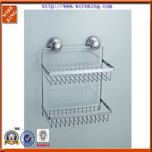 Suction Shower Accessory for Soap Dish and Shampoo Rack (WKA21006)