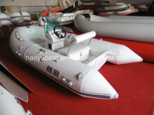 3.6m Rigid Inflatable Boat, Sport Boat, Cheap Rib Boat, PVC or Hypalon Boat pictures & photos