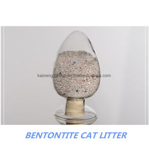 Round Bentonite Cat Litter pictures & photos