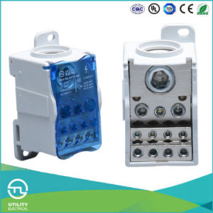 Wenzhou Mounting Steel Screw Terminal Block pictures & photos