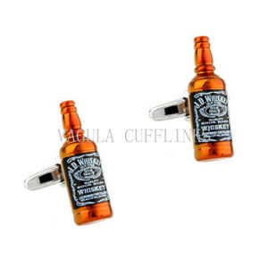 VAGULA Whiskey Bottle Funny Cufflink 707 pictures & photos