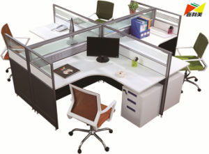 2018 Modern Office Parion Workstation With Multiple Shapes