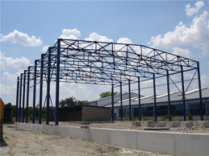 Prefabricated/Prefab Steel Structure Industrial Warehouse/Mezzanine/Building pictures & photos