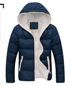 Cheap Winter Windproof Mens Down Jackets Men′s Winter Warm Collar Coat pictures & photos