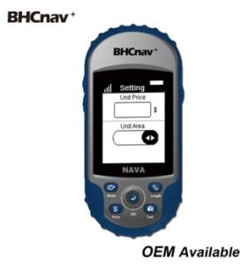 Bhcnav Nava 110 Land Measurement Handheld GPS Similar to Garmin Etrex 10  for Area Calculation