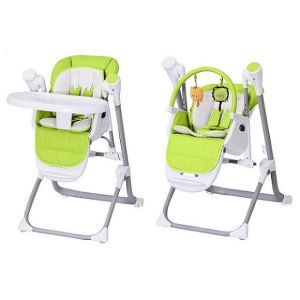 Multifunctional Luxury Foldable Portable Electric Adjustable Baby Meal High Chair with Double Tray and Safety Belt  sc 1 st  Made-in-China.com & China Multifunctional Luxury Foldable Portable Electric Adjustable ...