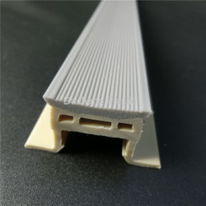 PVC Profile, Plastic Extrusion Parts pictures & photos