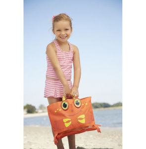Clicker Crab Kids′ Beach Tote Bag for 3-5years pictures & photos