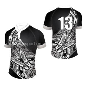 f4f28151b0a China Cheap Sublimation Rugby Shirt Custom Polyester Rugby Jersey ...