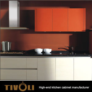 Free Kitchen Cabinets | China Italian Small Kitchen Cabinets With Melamine Finish And Handle