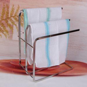 China Wholesale Yarn Dyed Stripe Design Kitchen Dish Towel China