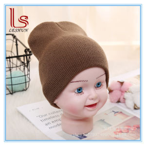 China Unisex Cotton Beanie Hat for Newborn Cute Baby Boysoft Toddler ... b226ff075d7