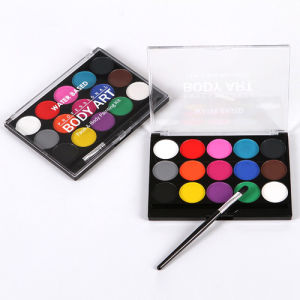 China High Quality Washable Waterbased Body Painting Kit Professional Colorful Body Art Face Body Paint China Face Painting Body Paint