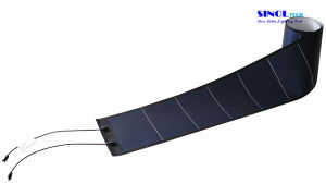 144W Amorphous Silicon Flexible Solar Panel with Back Adhesive Tape
