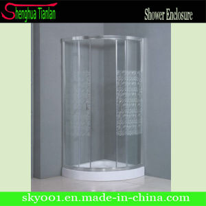 New Simple Corner Sealed Glass Bathroom Shower Enclosure (TL-524) pictures & photos