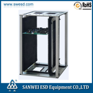 SMT Antistatic ESD PCB Magzine Rack (3W-9805301B3/B3G) pictures & photos