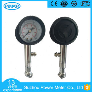 Factory Manufacture 40mm Tire Gauge with Tire Rubber Cover pictures & photos