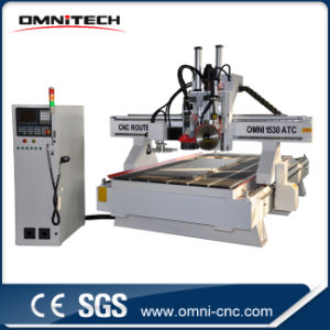 Woodworking CNC Router CNC Machining Center with Atc Tool Changer