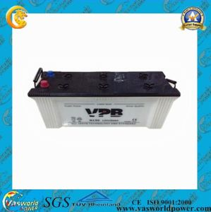 JIS Standard Dry Car Battery 12V 150ah pictures & photos