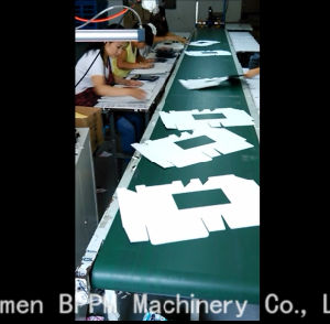 Semi-Automatic Window Patching Machine Paper Box (LDX-W908040) pictures & photos
