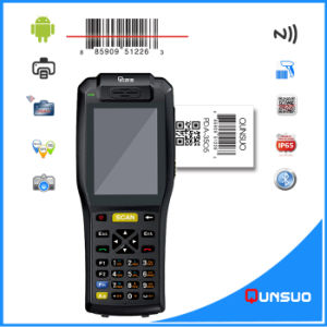 Android 3G Industrial Rugged Handheld Terminal with Thermal Printer