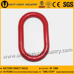Forged Alloy Steel A343 Flat Master Chain Links